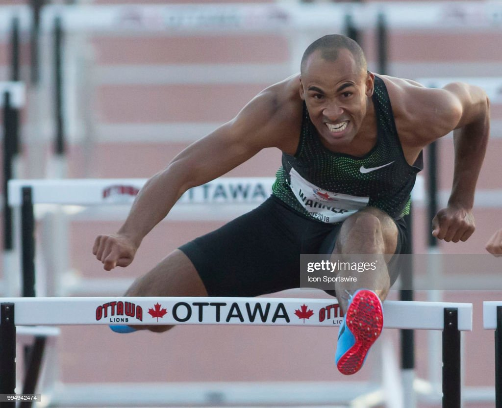 TRACK & FIELD: JUL 07 Canadian Championships : News Photo
