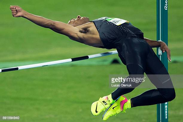 Damian Warner of Canada competed in the men's decathlon high jump in Rio de Janeiro during the 2016 Rio summer Olympic Games Warner's best jump came...