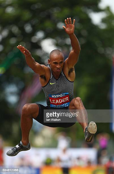 Damian Warner of Canada in action in the mens Decathlon Long Jump during the Hypomeeting Gotzis 2016 at the Mosle Stadiom on May 28 2016 in Gotzis...