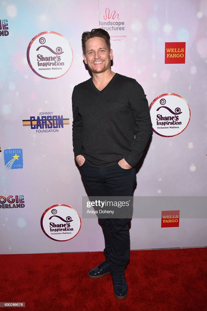 Damian Whitewood attends Shane's Inspiration's 20th Anniversary 'Boogie Wonderland' Gala on March 10, 2018 in Los Angeles, California.