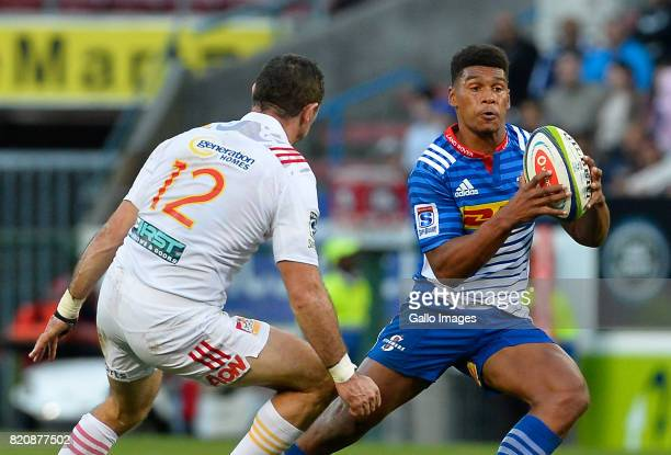 Damian Willemse of the Stormers during the Super Rugby Quarter final between DHL Stormers and Chiefs at DHL Newlands on July 22 2017 in Cape Town...