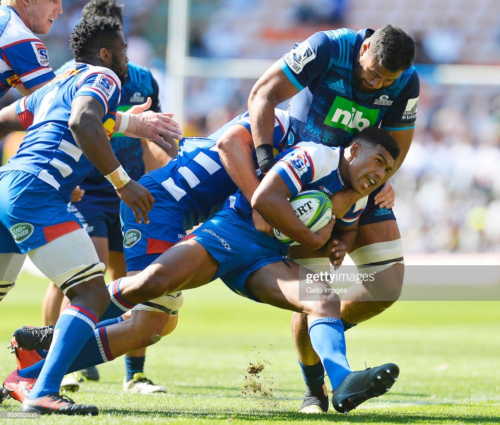 Super Rugby Rd 5 - Stormers v Blues