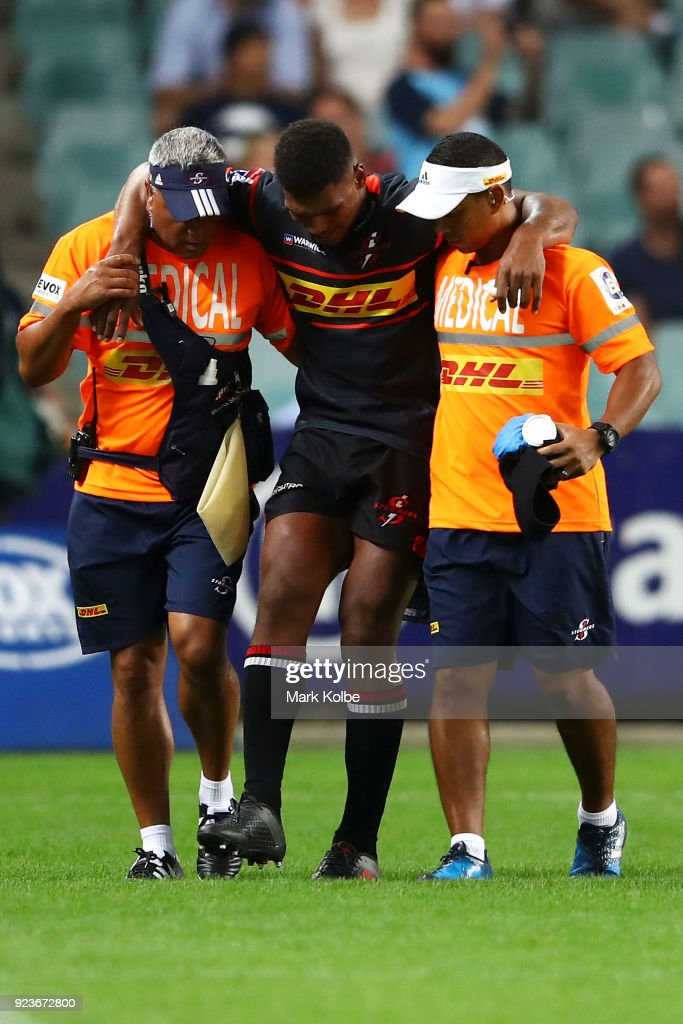 Super Rugby Rd 2 - Waratahs v Stormers : News Photo