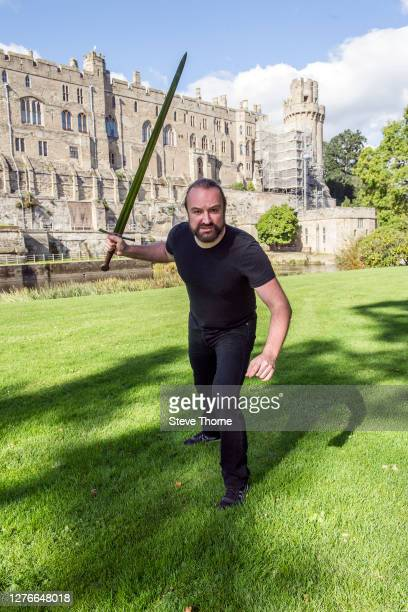Damian Wilson poses backstage during Picnic At The Castle 2020 at Warwick Castle on September 25 2020 in Warwick England