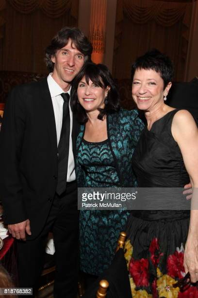 Damian Woetzel Judy Dimon and Jody Arnold attend BALLET HISPANICO'S 40th Anniversary Spring Gala at The Plaza on April 19 2010 in New York City
