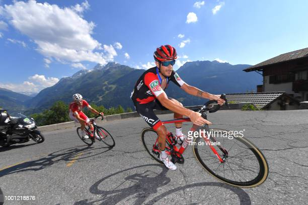 Damiano Caruso of Italy and BMC Racing Team / during the 105th Tour de France 2018, Stage 11 a 108,5km stage from Albertville to La Rosiere - Espace...