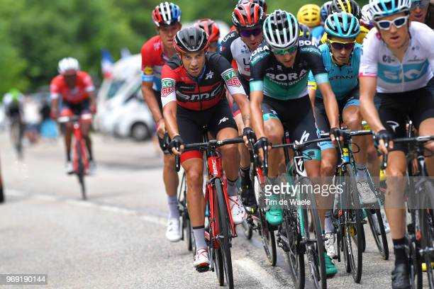 Damiano Caruso of Italy and BMC Racing Team / Pello Bilbao of Spain and Astana Pro Team / during the 70th Criterium du Dauphine 2018 Stage 4 a 181km...
