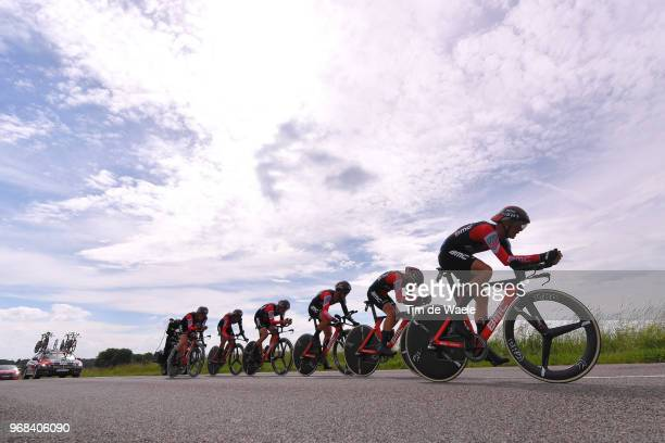 Damiano Caruso of Italy / Patrick Bevin of New Zealand / Tom Bohli of Switzerland / Brent Bookwalter of The United States / Dylan Teuns of Belgium /...