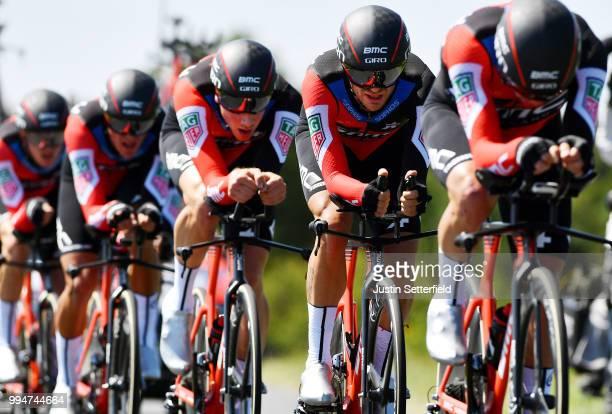 Damiano Caruso of Italy / Simon Gerrans of Australia / Stefan Kung of Switzerland / Michael Schar of Switzerland / Greg Van Avermaet of Belgium /...