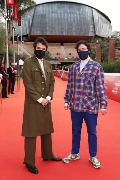 ITA: Damiano e Fabio D'Innocenzo Red Carpet - 15th Rome Film Festival 2020