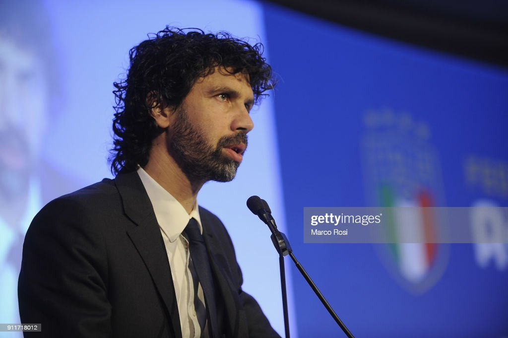 Italian Football Federation New President Elections : ニュース写真