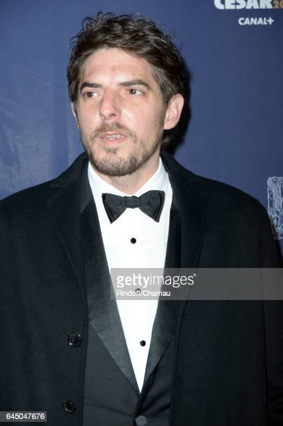 Damien Bonnard arrives at the Cesar Film Awards Ceremony at Salle Pleyel on February 24 2017 in Paris France