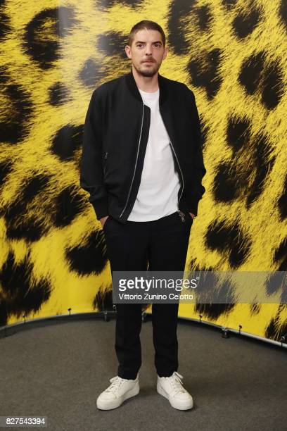 Damien Bonnard attends 'Iceman' photocall during the 70th Locarno Film Festival on August 8 2017 in Locarno Switzerland