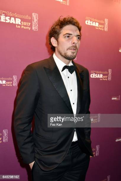 Damien Bonnard attends the Cesar's after party at Le Queen Club on February 24 2017 in Paris France