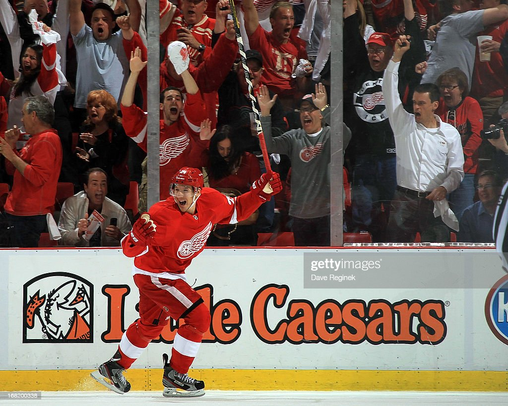 Anaheim Ducks v Detroit Red Wings - Game Four