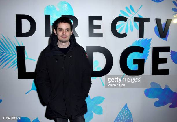 "Damien Chazelle at the ""Honey Boy"" party at DIRECTV Lodge presented by ATT at Sundance Film Festival 2019 on January 25 2019 in Park City Utah"