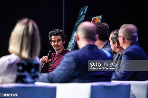 Damien Chazelle attend Starmus V A Giant Leap sponsored by Kaspersky at Samsung Hall on June 26 2019 in Zurich Switzerland