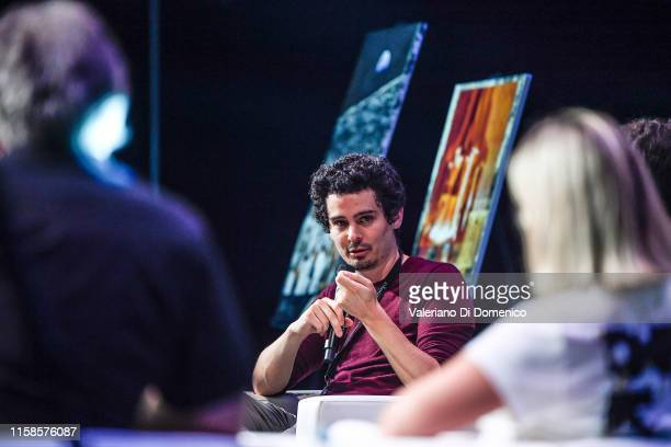 Damien Chazelle attends Starmus V A Giant Leap sponsored by Kaspersky at Samsung Hall on June 26 2019 in Zurich Switzerland