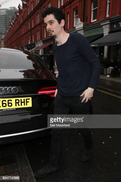 Damien Chazelle attends the BAFTAs Working Title VIP Brunch at the Chiltern Firehouse on February 11 2017 in London England