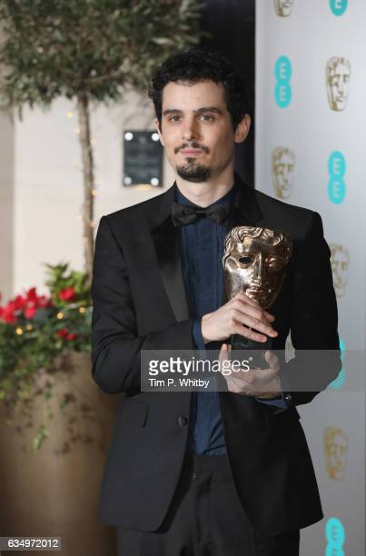 Damien Chazelle attends the official after party for the 70th EE British Academy Film Awards at The Grosvenor House Hotel on February 12 2017 in...