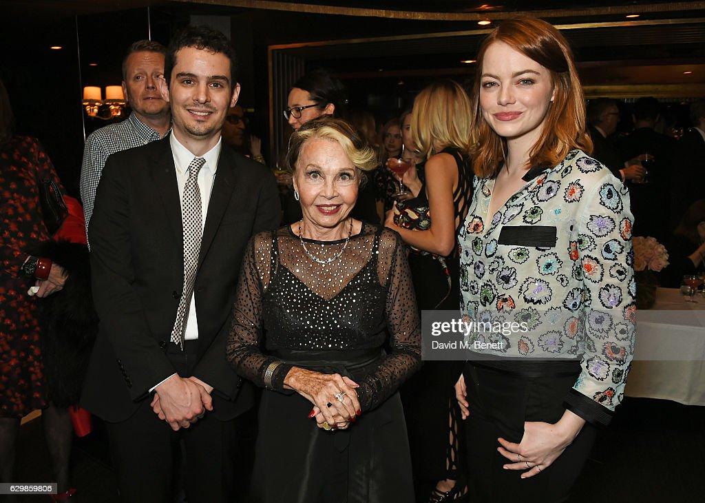 """La La Land"" Reception With Damien Chazelle, Emma Stone & Justin Hurwitz"