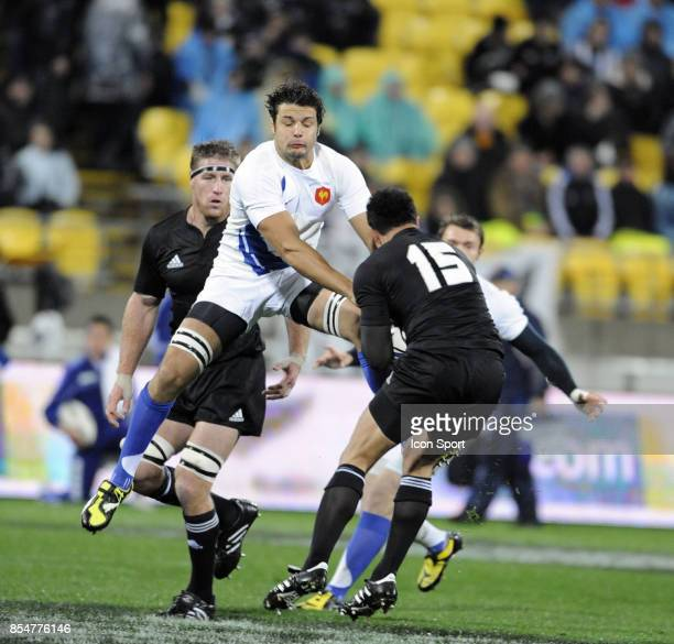 Damien CHOULY Nouvelle Zelande / France Test Match Westpac Stadium Wellington
