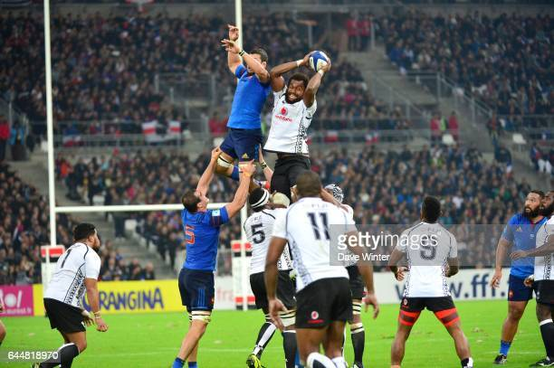 Damien CHOULY / Leone NAKARAWA France / Fidji Test Match Marseille Photo Dave Winter / Icon Sport