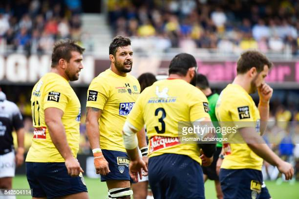 Damien Chouly of Clermont during the Top 14 match between Clermont and Toulon on September 3 2017 in ClermontFerrand France