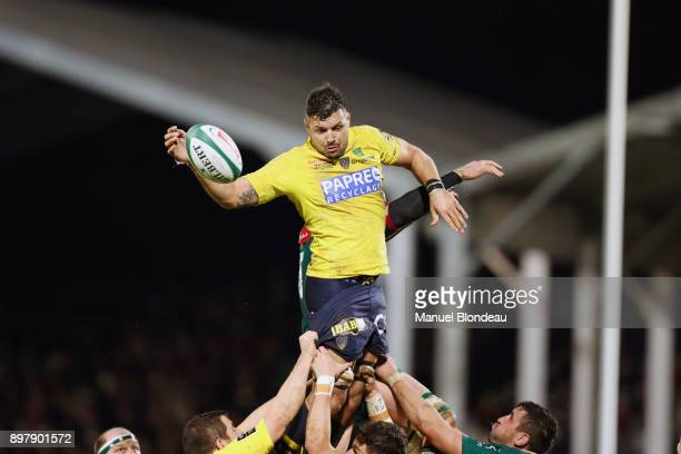 Damien Chouly of Clermont during the Top 14 match between Pau and Clermont on December 23 2017 in Pau France