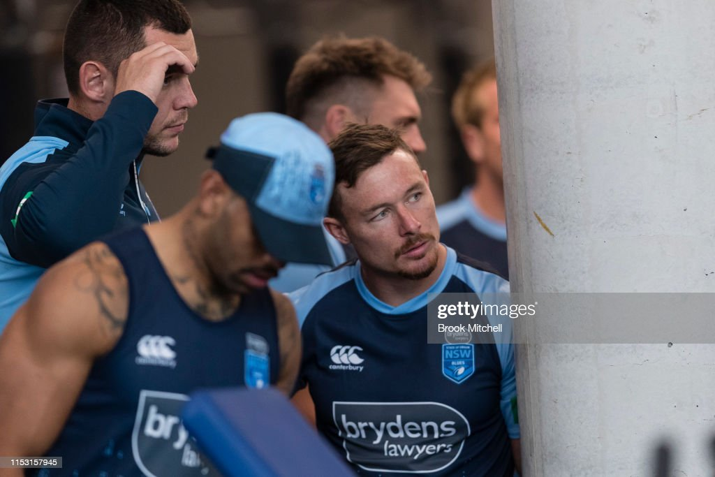 NSW Blues Training Session : ニュース写真