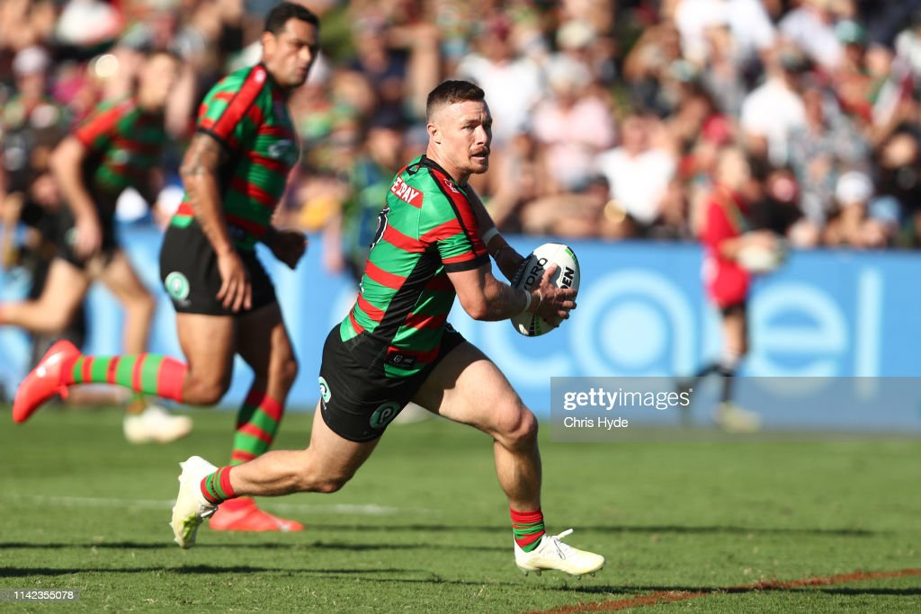 NRL Rd 5 - Rabbitohs v Warriors : News Photo