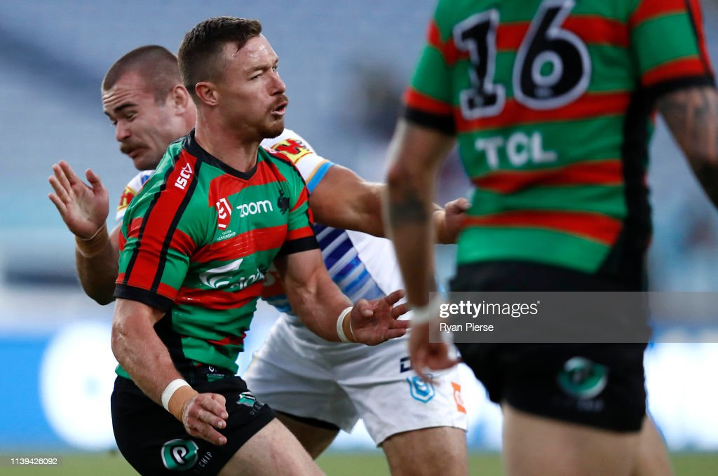 NRL Rd 3 - Rabbitohs v Titans : News Photo
