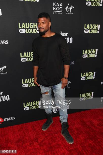 Damien Dante Wayans attends Launch Of Laugh Out Loud hosted by Kevin Hart And Jon Feltheimer on August 03 2017 in Los Angeles California