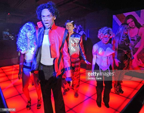 Damien Deshaun Smith as Michael Jackson Meg Lanzarone as Madonna Past Joey Johnson as Vanilla IceBevin Bru as Katy Perry and AnnMarie Sepe as Lady...