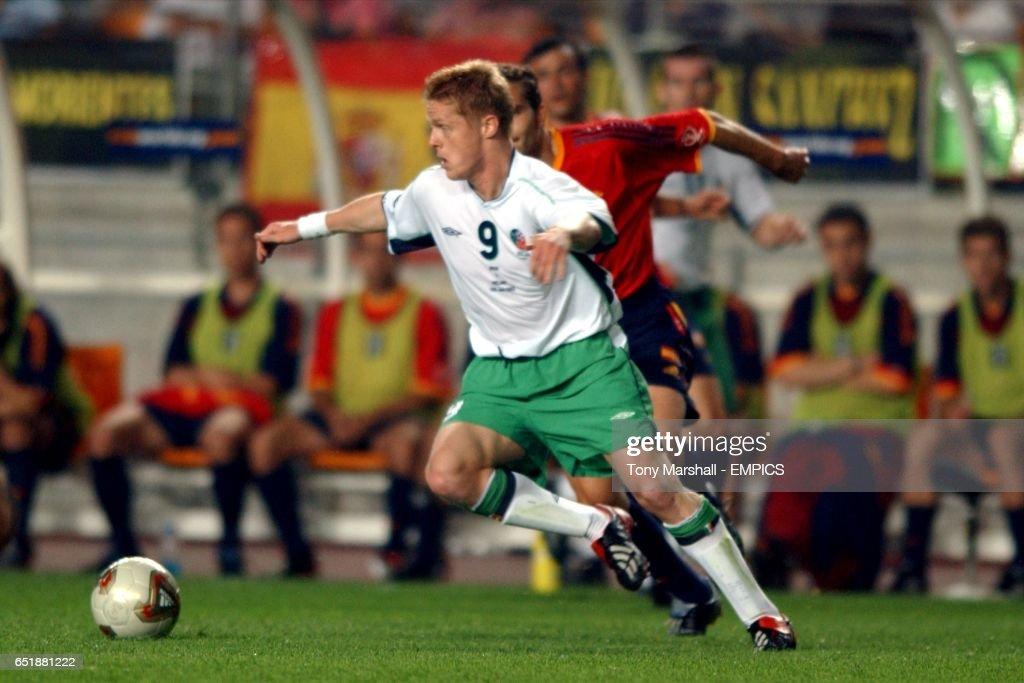 Soccer -FIFA World Cup 2002 - Second Round - Spain v Republic of Ireland : Nachrichtenfoto