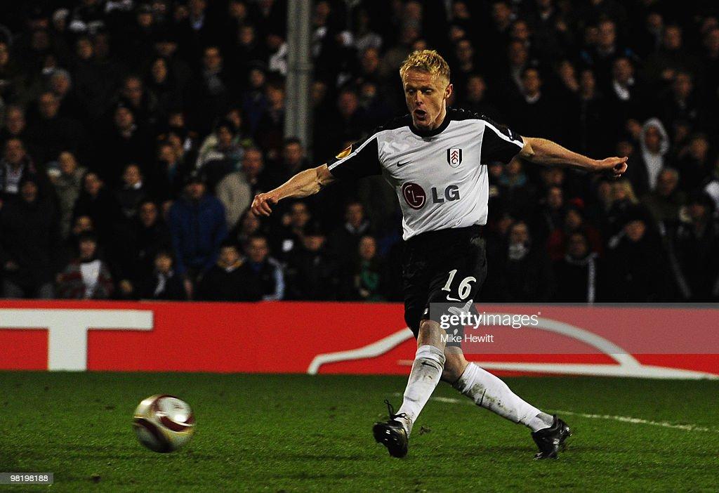 Fulham v VfL Wolfsburg - UEFA Europa League : ニュース写真