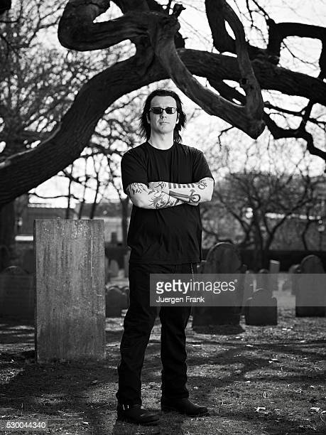 Damien Echols at the Charter Street Burial Ground this historic cemetery called the Burying Point is Salem's first burial ground established in 1637...