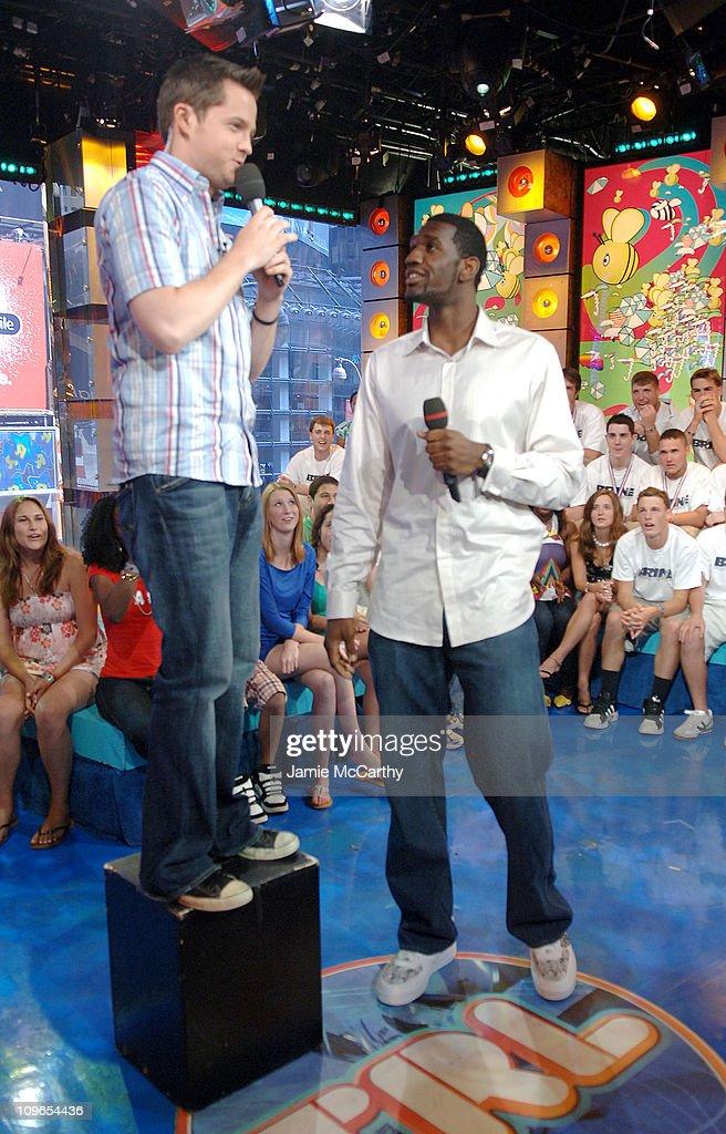 Greg Oden Visits MTV's TRL - June 26, 2007