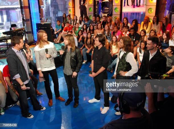 Damien Fahey and Maroon 5