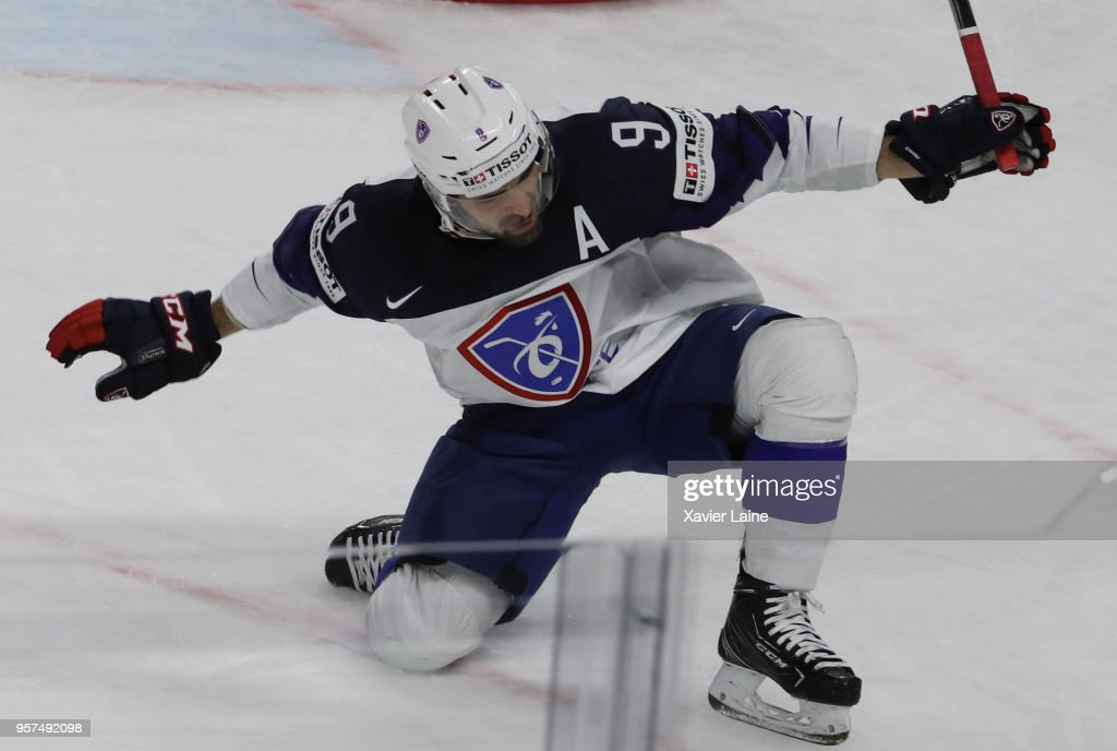 France v Austria - 2018 IIHF Ice Hockey World Championship : News Photo