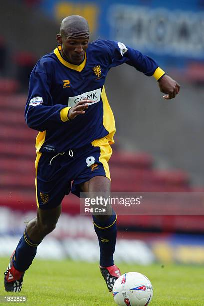 Damien Francis of Wimbledon in action during the Wimbledon v Gillingham Nationwide League Division One at Selhurst Park in London, England on August...