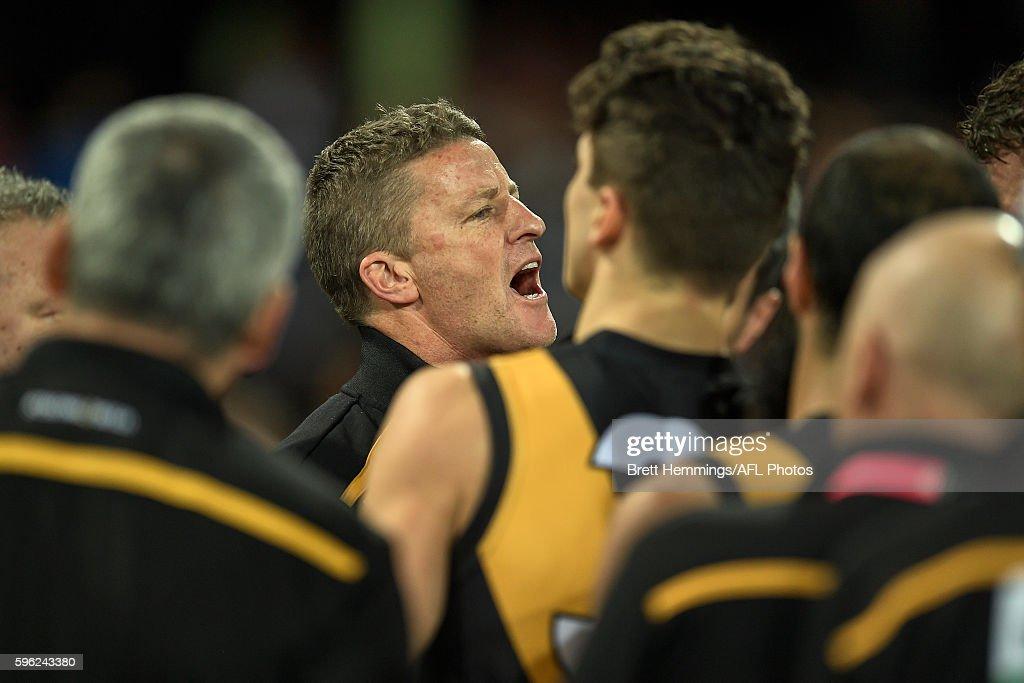 AFL Rd 23 - Sydney v Richmond : News Photo