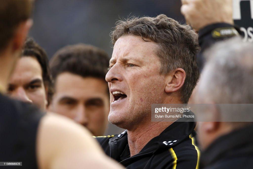 AFL Rd 18 - Richmond v Port Adelaide : News Photo