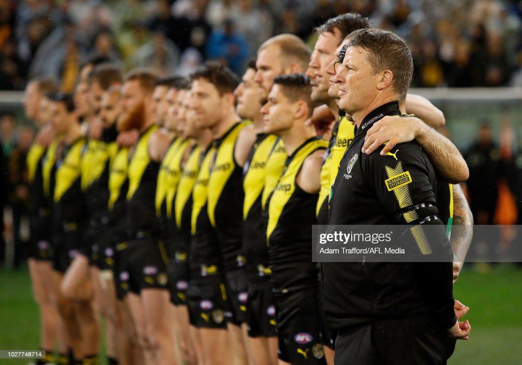AFL First Qualifying Final - Richmond v Hawthorn : News Photo