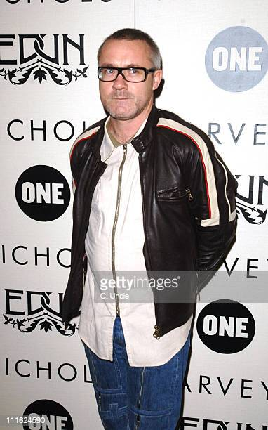 Damien Hirst during Edun One - Launch Party at Harvey Nichols in London, Great Britain.