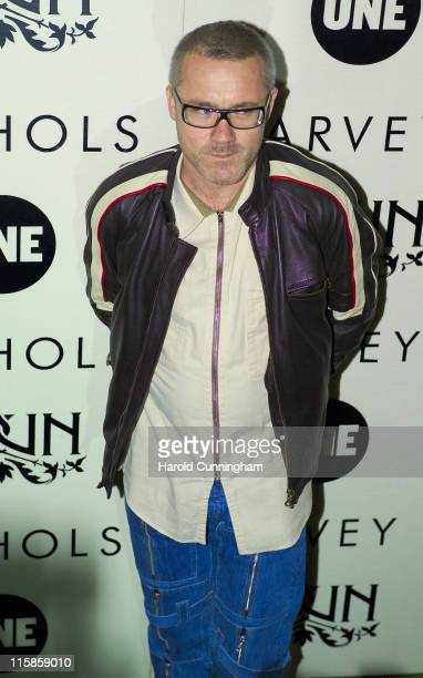 Damien Hirst during Edun One - Launch Party at Harvey Nicols in London, Great Britain.