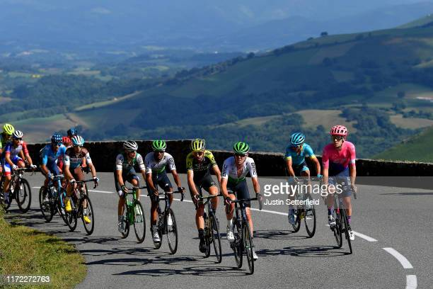 Damien Howson of Australia and Team MitcheltonScott / Ben O'Connor of Australia and Team Dimension Data / Lawson Craddock of The United States and...