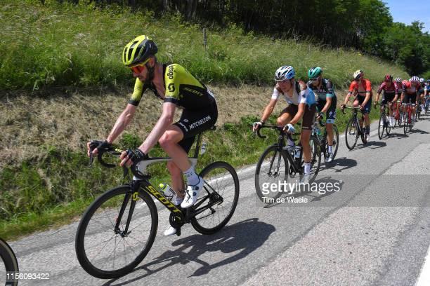 Damien Howson of Australia and Team Mitchelton-Scott / Benoit Cosnefroy of France and Team AG2R La Mondiale / Peloton / during the 71st Criterium du...