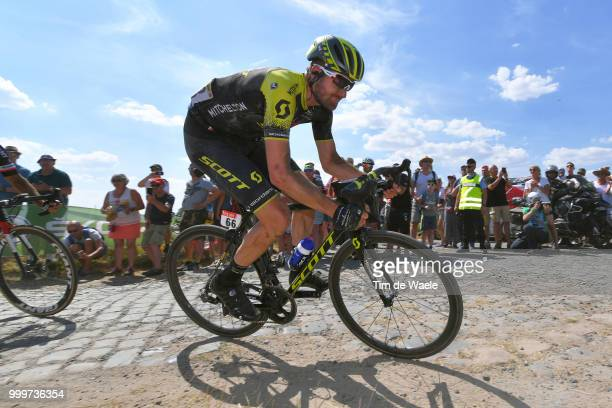 Damien Howson of Australia and Team MitcheltonScott / during the 105th Tour de France 2018 Stage 9 a 1565 stage from Arras Citadelle to Roubaix on...