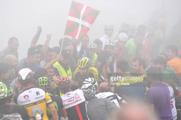 Damien Howson of Australia and Team Mitchelton-Scott / Fans / Public / during the 73rd Tour of Spain 2018, Stage 17 a 157km stage from Getxo to Alto...